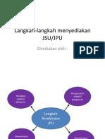 Langkah-Langkah Menyediakan JSU