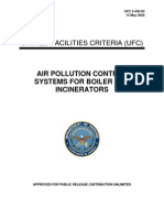 Air Pollution Control Systems for Boiler