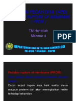 Rps138 Slide Ketuban Pecah Dini Prelabor Rupture of the Membranes 1