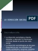La Dirección Sociológica