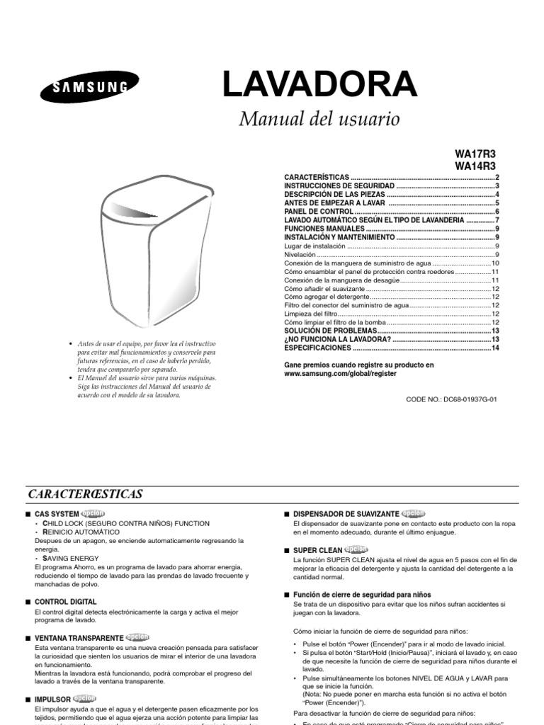 Resultado de imagen para cómo usar una lavadora