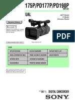 Sony Dsr-pd175_pd177_pd198 Service Manual