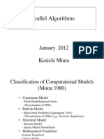 Parallel Algorithms and Applications(2012)