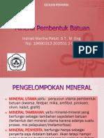 Mineral Pembentuk Batuan