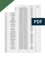 Form Daftar Ulang Isday