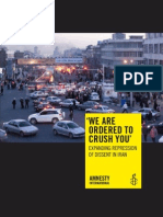 Amnesty International Iran Report