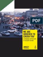 Amnesty International Iran Report