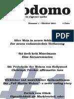 Prodomo - Ausgabe 1
