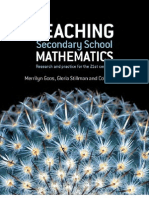 Goos - Teaching Secondary School Mathematics (Allen, 2007)