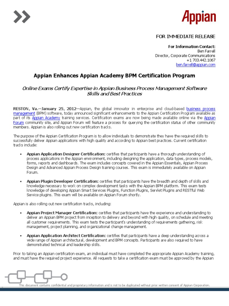 Resume Appian Developer Resume appian enhances academy bpm certification program professional business process management