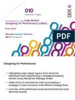 1346A Message Broker Designing for Performance