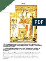 Panteon egipcio