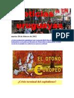 Noticias Uruguayas Martes 28 de Febrero de 2012