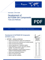 Embedded World DevelopmentofAUTOSARSWComponents Presentation Kaske