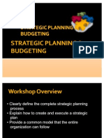 Day 1 STRATEGIC PLANNING & BUDGETING 2011