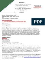 La Poesia di Sandro Penna, Una Lezione di Etica. Assoetica 15 Marzo 2012