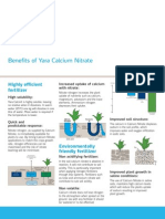 Calcium Nitrate Brochure