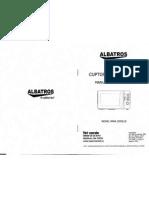 Manual Cuptor Microunde Albatros