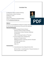 Fresh Graduate Resume It Specialist Software Technology
