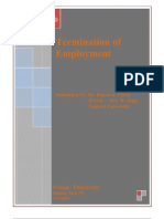 Termination of Employment - Presentation