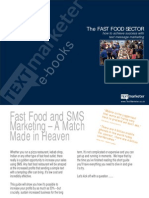 Text Message Marketing Guide for Fast Food Industry