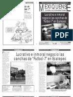 Versión impresa del periódico El mexiquense Edición 28 de Febrero 2012