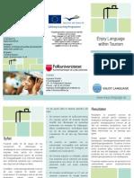 Enjoy Language Flyer Version 1.4 Swedish