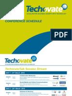 Techovate Schedule 28 February