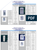 Newest Price List for Both Desktop and Floor Standing Dispensers