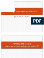 Nursing Outcome Classification