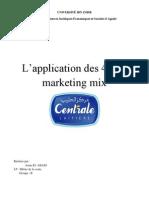 l'Application Des 4P