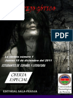 Revista El Espejo Gotico Terminada