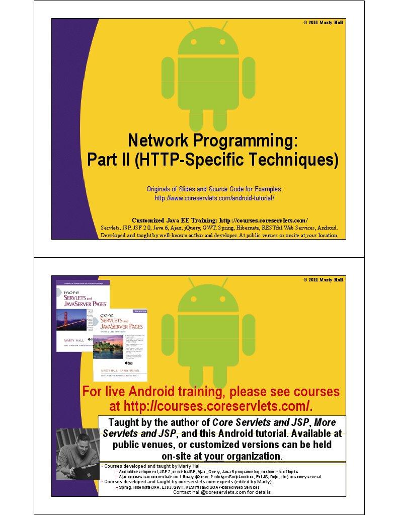 Android networking 2 java servlet json baditri Images