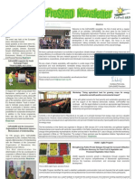 Newsletter No1 February 2012
