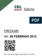 Circolari Del 28 Febbraio 2012
