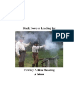 Black Powder Loading for Cowboy Action Shooting