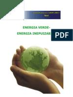 Energia Verde - Energia Inepuizabilă.