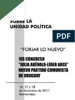 Sobre la Unidad Política