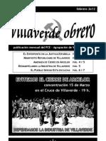 Villaverde Obrero - Número 8 - Febrero 2o12