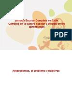 Jornada Escolar Completa en Chile, Sr. Sergio Martinic