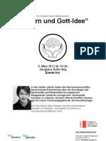 Flyer_Gott Idee Und Gehirn