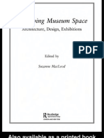 Reshaping Museum Space- Architecture- Design- Exhibitions by Suzanne Macleod