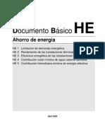 CTE Ahorro energía parte 1