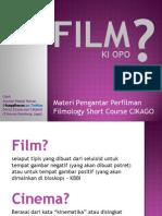 Materi Pengantar Film