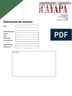 Formula Rio Suscripción