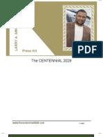 Larry Smoot Press Kit ~ The Centennial 2029