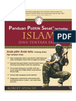 Panduan Politik Sesat Terhadap Islam (Dan Tentara Salib) oleh Robert Spencer