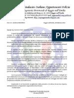 Lettera Compilazione Rapporti Informativi