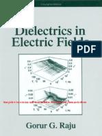 Dielectrics in Electric Fields Book