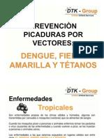 Prevenciòn picaduras por vectores- Dengue y fiebre amarilla